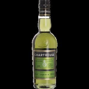 CHARTREUSE verte, 55°, bouteille de 35cl