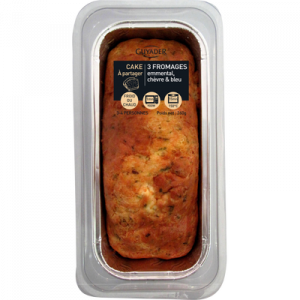 Cake aux 3 fromages GUYADER, 260g