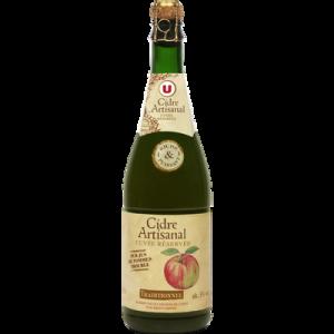 Cidre artisanal Traditionnel U, 5,5° 75cl