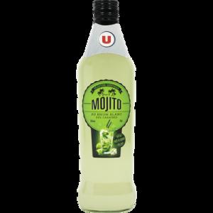Cocktail Mojito U, 15°, bouteille de 70cl