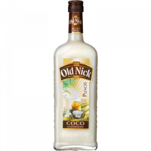 Cocktail punch coco OLD NICK, 16°, bouteille de 70cl