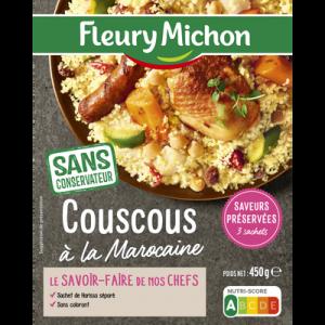 Couscous à la Marocaine FLEURY MICHON, 450g