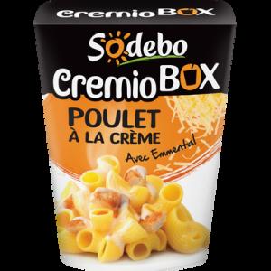 Cremio box poulet à la crème SODEBO, 280g