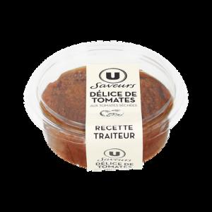 Délice de tomates séchées U SAVEURS, 200g