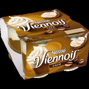Dessert lacté au café LE VIENNOIS NESTLE, 4x100g