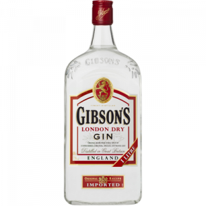 Gin GIBSON'S, 37°5, 1l