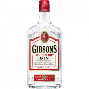 Gin GIBSON'S 37,5°, 70cl