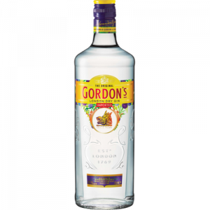 Gin GORDON, 37,5°, bouteille de 70cl