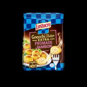 Gnocchi à poêler extra fromage jambon LUSTUCRU, Sélection 280G