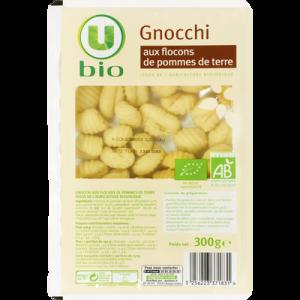 Gnocchi BIO aux flocons de pomme de terre U BIO, 300g