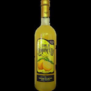Liqueur de citron traditionnelle Limoncello, 30°, bouteille de 70cl
