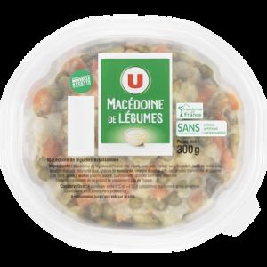 Macédoine de légumes U, 300g