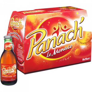 Monaco de PANACH',0,45°, 8 bouteilles en verre de 25cl