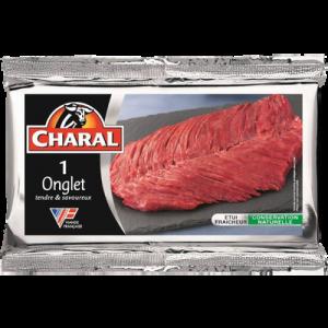 Onglet de boeuf , à griller, CHARAL, France, 1 pièce 140 g