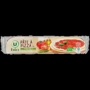 Pâte à pizza à l'huile d'olive, U BIO, 260g