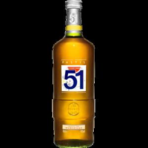 PASTIS 51, 45°, bouteille de 1l