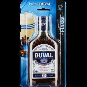 Pastis DUVAL, 45°, 20cl