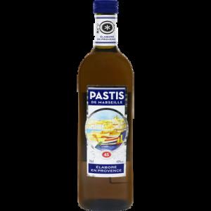 Pastis de Marseille U, 40°, bouteille de 70cl