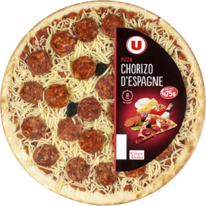 Pizza au chorizo d'Espagne U, 475g