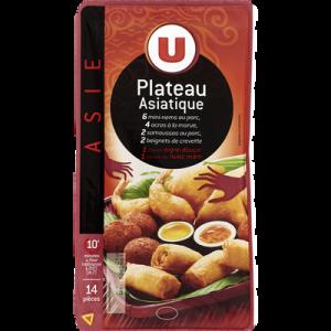 Plateau asiatique 14 pièces + sauces U, 370g