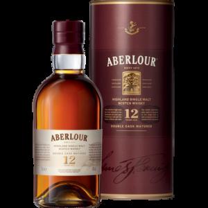 Scotch whisky Double Cask ABERLOUR, 12 ans d'âge, 40°, 70cl sous étui