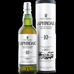 Scotch whisky single malt LAPHROAIG, 40, 10 ans d'âge, 70cl