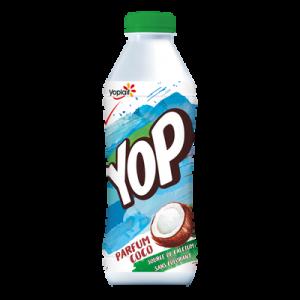 Yaourt à boire sucré aromatisé coco YOP, 825g