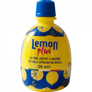 Citron jaune pressé LEMON PLUS,12,5cl
