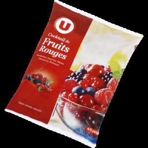 Cocktail de fruits rouges U, 1kg