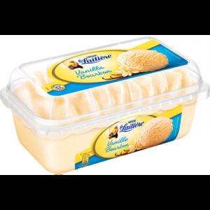 Crème glacée saveur vanille bourbon LA LAITIÈRE, pot de 510g