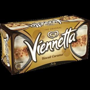 Dessert glacé biscuit caramel VIENNETTA, 350g