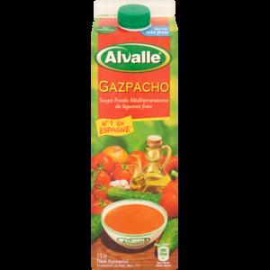 Gazpacho ALVALLE, brique de 1 litre
