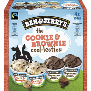 Glace cookie mixed BEN & JERRY'S, 288g