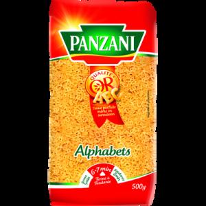 Pâtes à potage alphabet PANZANI, 500g