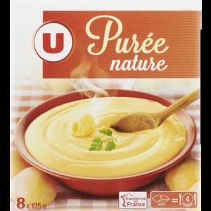 Purée nature U, paquet de 1kg