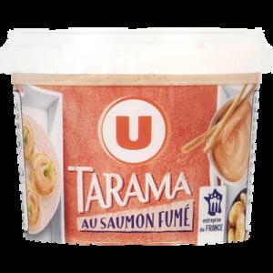 Tarama au saumon fumé U, pot de 100g